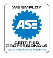 ASE Sign 175